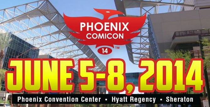 Top Ten Reasons to go to Phoenix Comicon 2014