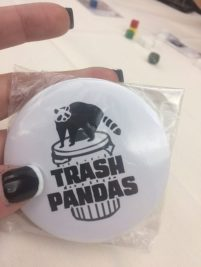 Trash Panda Button